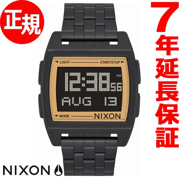 【楽天ショップオブザイヤー2017大賞受賞!】ニクソン NIXON ベース BASE 腕時計 メンズ レディース ALL BLACK/GOLD NA11071031-00【2018 新作】【あす楽対応】【即納可】