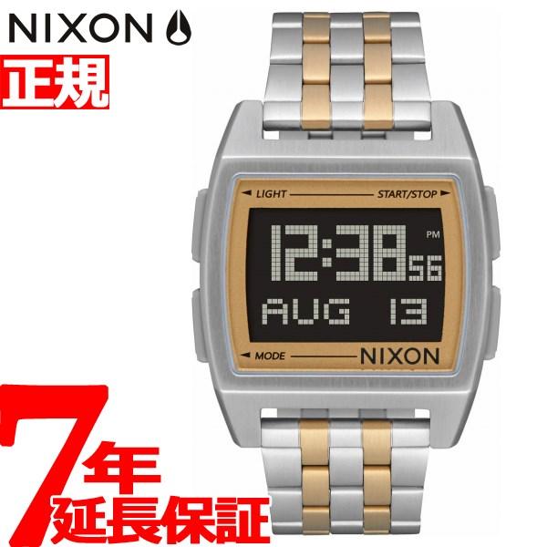 【楽天ショップオブザイヤー2017大賞受賞!】ニクソン NIXON ベース BASE 腕時計 メンズ レディース SILVER/LIGHT GOLD NA11071431-00【2018 新作】【あす楽対応】【即納可】