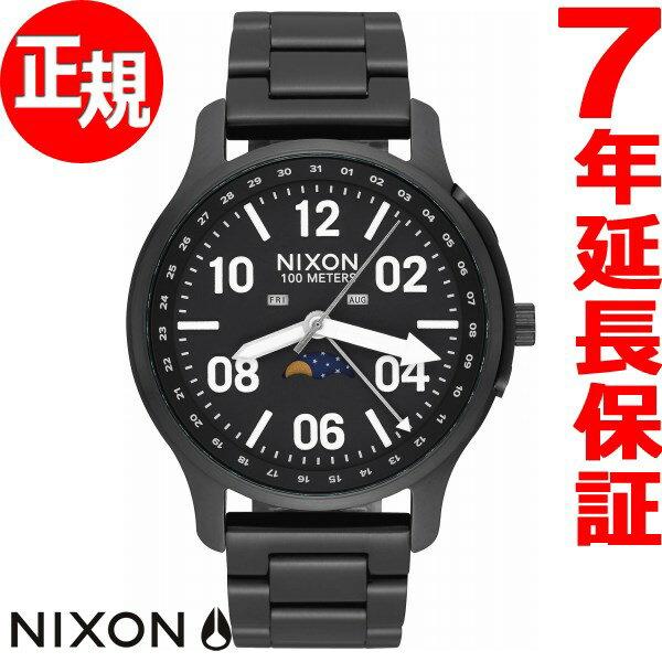 ニクソン NIXON アセンダー ASCENDER 腕時計 メンズ BLACK/LUM NA12082474-00【2018 新作】