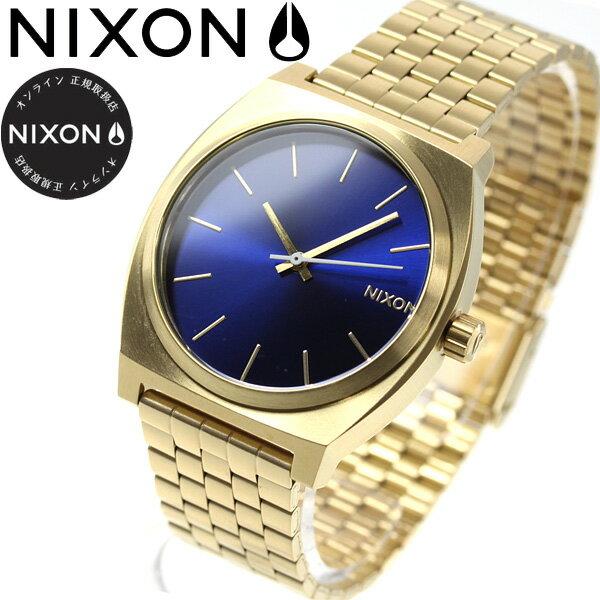 ニクソン NIXON タイムテラー TIME TELLER 腕時計 メンズ/レディース オールゴールド/ブルーサンレイ NA0452735-00