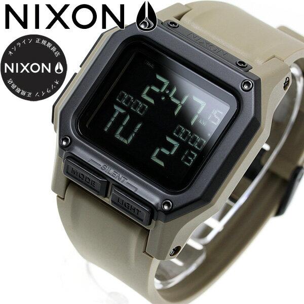 【楽天ショップオブザイヤー2017大賞受賞!】ニクソン NIXON レグルス REGULUS 腕時計 メンズ ALL SAND NA11802711-00【2018 新作】【あす楽対応】【即納可】
