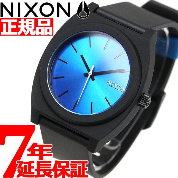 ポイント最大39倍!21日1時59分まで! ニクソン NIXON タイムテラーP TIME TELLER P 腕時計 メンズ/レディース ブラック/ブルー/フロート NA1192835-00【あす楽対応】【即納可】