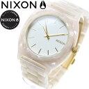 ニクソン NIXON タイムテラーアセテート TIME TELLER ACETATE 限定モデル 腕時計 レディース/メンズ ホワイトグラニット/ゴールド NA3272031-00
