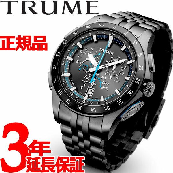 エプソン トゥルーム EPSON TRUME ライトチャージ GPS衛星電波時計 腕時計 メンズ M collection TR-MB7004X【2018 新作】
