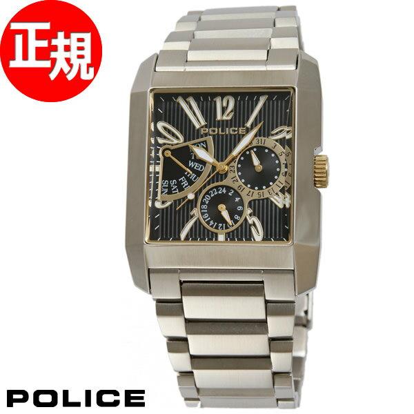 ポリス POLICE 腕時計 メンズ キングスアヴェニュー KINGS AVENUE 13789MS/02M【あす楽対応】【即納可】