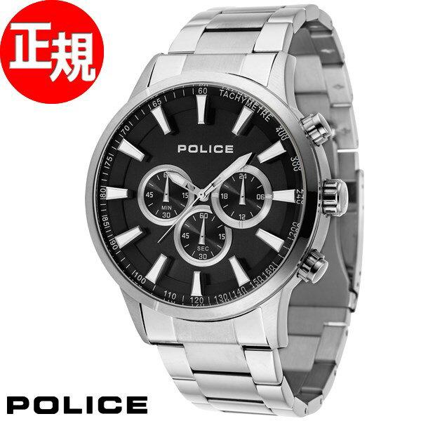 ポリス POLICE 腕時計 メンズ モーメンタム MOMENTUM クロノグラフ 15000JS/02M