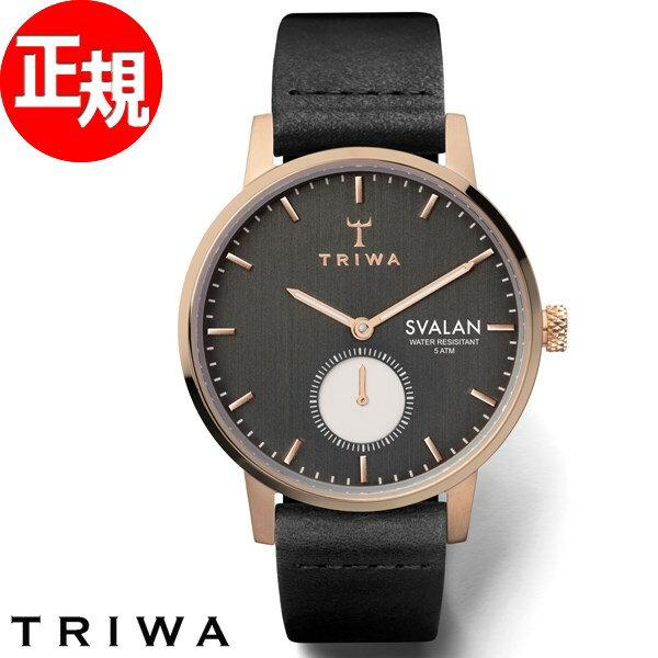 トリワ TRIWA 腕時計 レディース ノワール スバーラン NOIR SVALAN SVST101-SS010114