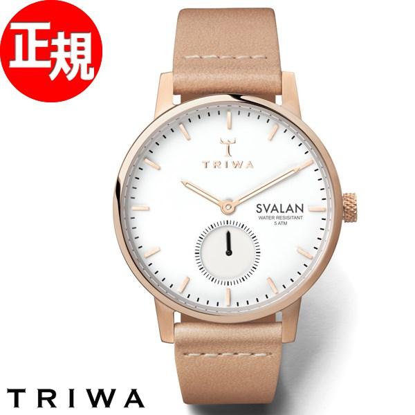 【ポイント最大37倍!さらに、クーポンで最大2000円OFF!】トリワ TRIWA 腕時計 レディース ローズ スバーラン ROSE SVALAN SVST104-SS010614【2018 新作】