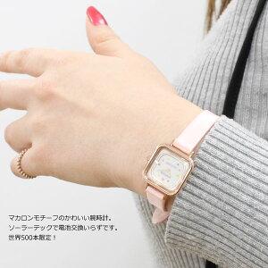 ポイント最大33倍!8日10時スタート!シチズンウィッカ×ラデュレCITIZENwicca×LADUREEソーラーテックコラボ限定モデル腕時計レディースKK3-310-16【2018新作】