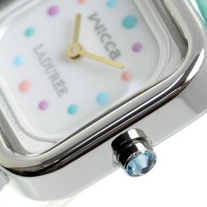 ポイント最大33倍!8日10時スタート!シチズンウィッカ×ラデュレCITIZENwicca×LADUREEソーラーテックコラボ限定モデル腕時計レディースKK3-310-18【2018新作】