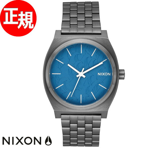 ニクソン NIXON タイムテラー TIME TELLER 腕時計 メンズ レディース ネイビー/ガンメタル NA0452854-00【2018 新作】