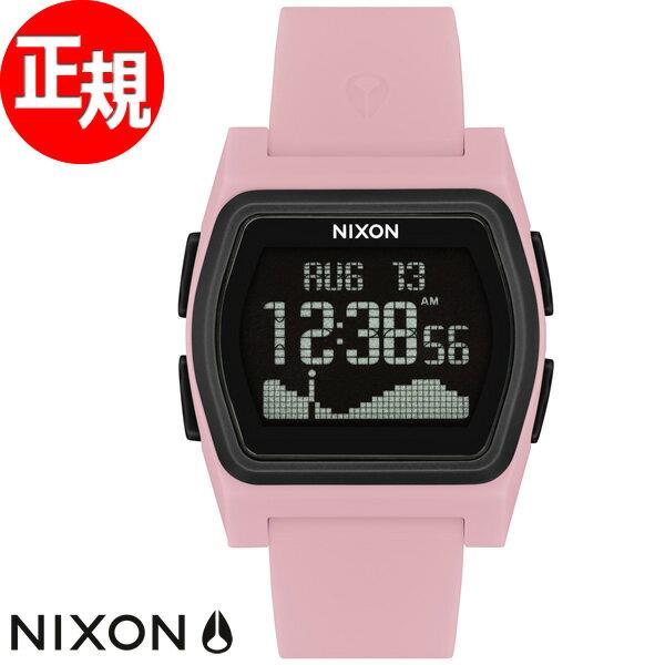 ニクソン NIXON ライバル RIVAL 腕時計 メンズ レディース ピンク/ブラック NA12362531-00【2018 新作】