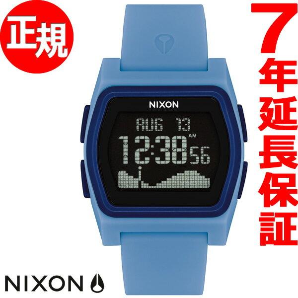 本日ポイント最大29倍!26日1時59分まで!ニクソン NIXON ライバル RIVAL 腕時計 メンズ レディース パウダーブルー NA12362974-00【2018 新作】