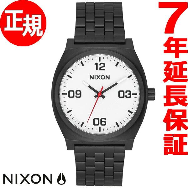 ポイント最大36倍!21日1時59分まで! ニクソン NIXON タイムテラー コープ TIME TELLER CORP 腕時計 メンズ レディース ブラック/ホワイト NA1247005-00【2018 新作】【あす楽対応】【即納可】