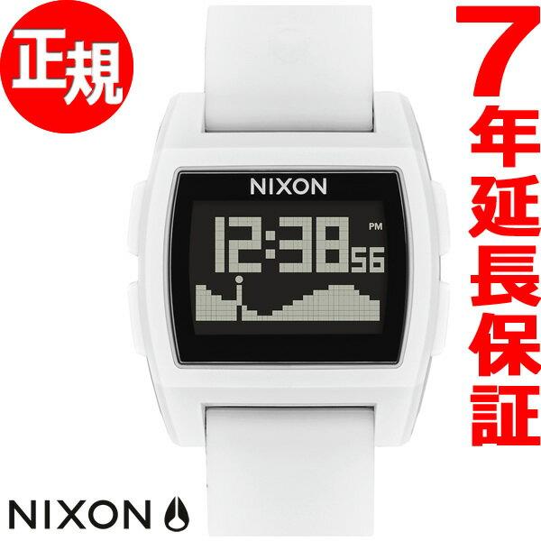本日ポイント最大25倍!24日9時59分まで! ニクソン NIXON ベースタイド BASE TIDE 腕時計 メンズ レディース レッド/ホワイト/ブルー NA1104083-00【2018 新作】
