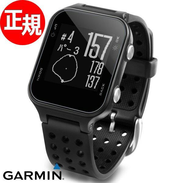 ガーミン GARMIN GPS内蔵 腕時計型 ゴルフナビ Approach S20J Black スマートウォッチ ウェアラブル端末 メンズ レディース アプローチ S20 ブラック 010-03723-11【2018 新作】