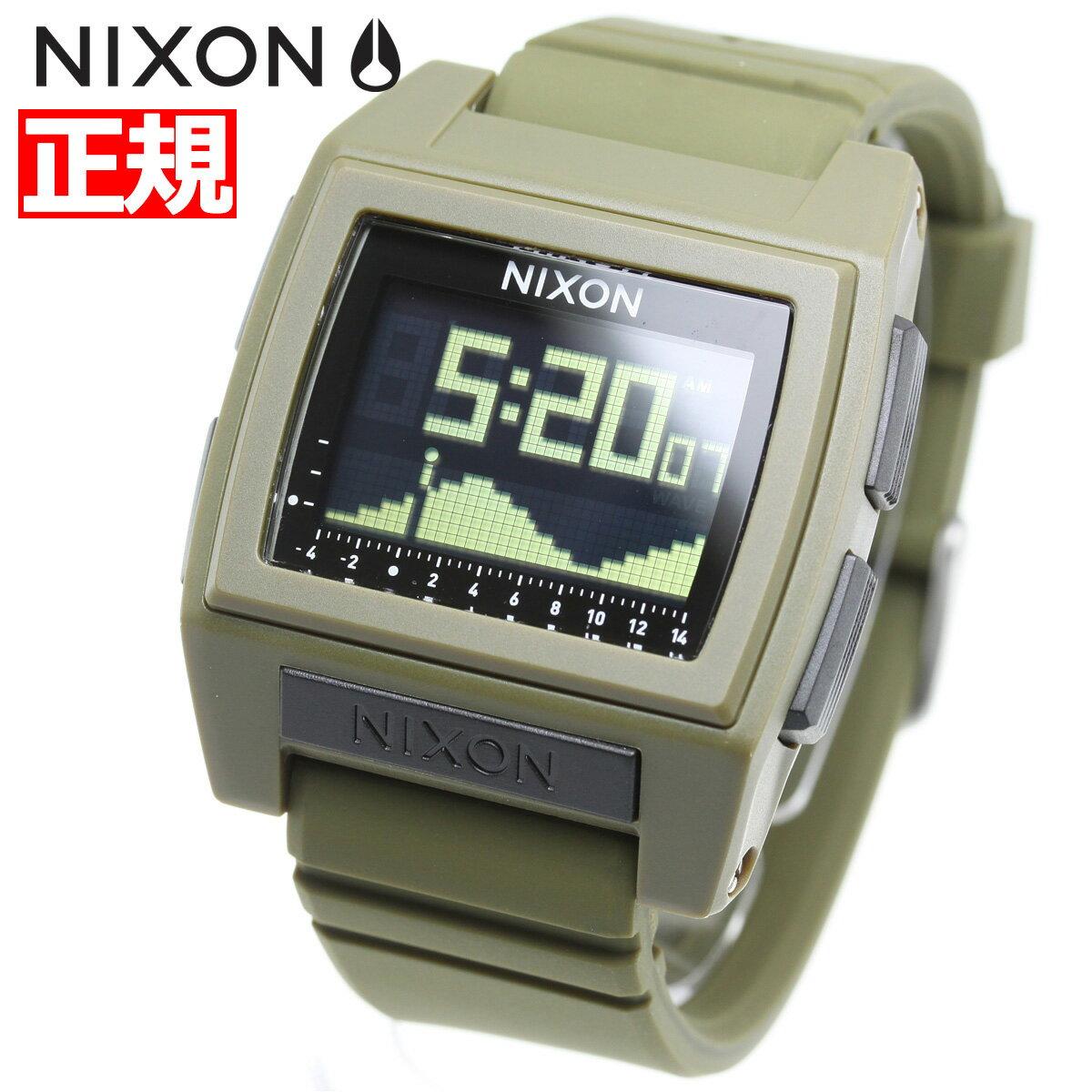 本日ポイント最大37倍!26日1時59分まで!ニクソン NIXON ベースタイド プロ BASE TIDE PRO 腕時計 メンズ レディース SURPLUS NA12121085-00【2018 新作】