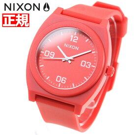 ニクソン NIXON タイムテラーP コープ TIME TELLER P CORP 腕時計 メンズ/レディース マットレッド/ホワイト NA12483008-00