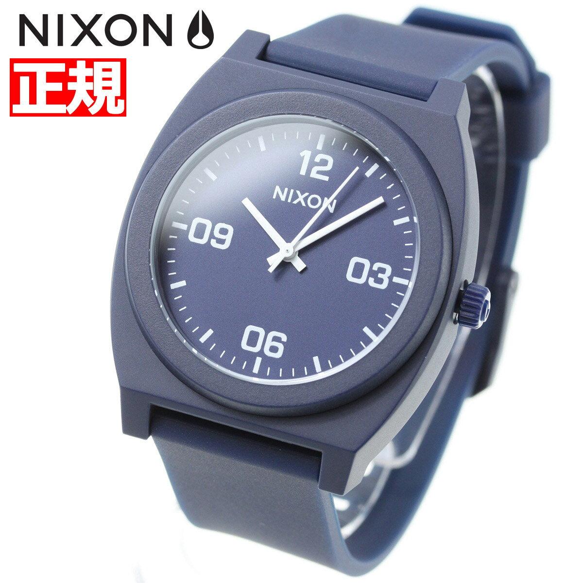 ニクソン NIXON タイムテラーP コープ TIME TELLER P CORP 腕時計 メンズ/レディース マットネイビー/ホワイト NA12483010-00【2018 新作】