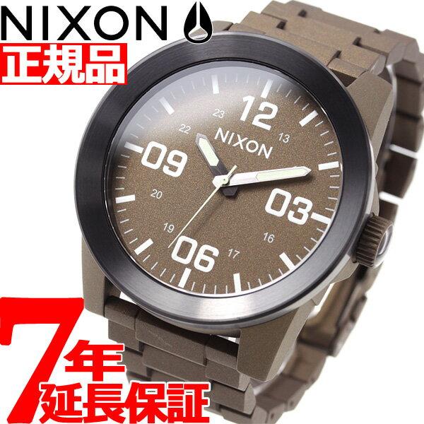 ニクソン NIXON コーポラルSS CORPORAL SS 腕時計 メンズ BRONZE CERAKOTE NA3462856-00【2018 新作】