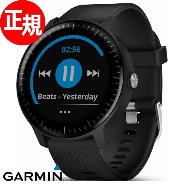 ガーミン GARMIN vivoactive3 Music ヴィヴォアクティブ GPS内蔵 スマートウォッチ ウェアラブル端末 腕時計 メンズ レディース Black 010-01985-23【2018 新作】