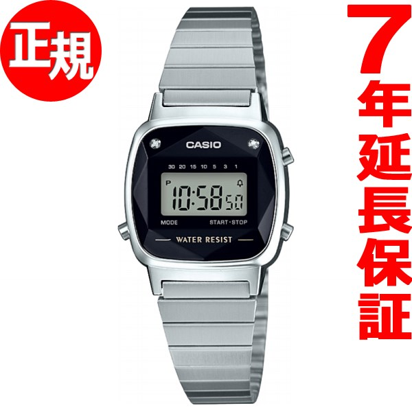 本日ポイント最大26倍!25日23時59分まで!さらに最大2000円OFFクーポンも♪カシオ CASIO スタンダード 限定モデル 腕時計 レディース LA670WAD-1JF【2018 新作】