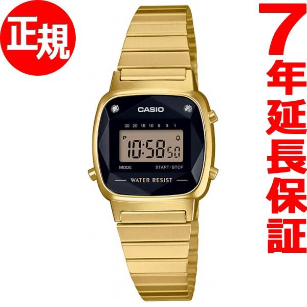 本日ポイント最大26倍!25日23時59分まで!さらに最大2000円OFFクーポンも♪カシオ CASIO スタンダード 限定モデル 腕時計 レディース LA670WGAD-1JF【2018 新作】