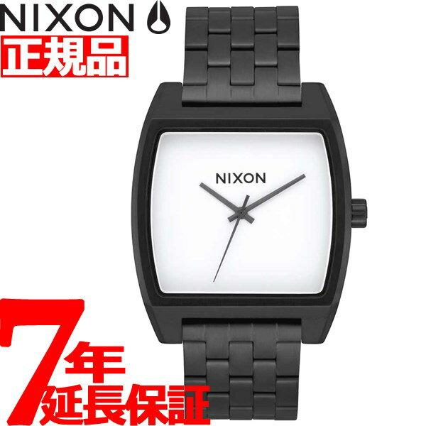 ニクソン NIXON タイムトラッカー TIME TRACKER 腕時計 メンズ レディース ブラック/ホワイト NA1245005-00【2018 新作】