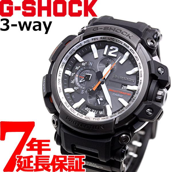 G-SHOCK GPS ハイブリッド 電波 ソーラー 電波時計 Gショック グラビティマスター CASIO GRAVITYMASTER Bluetooth搭載 腕時計 メンズ GPW-2000-1AJF
