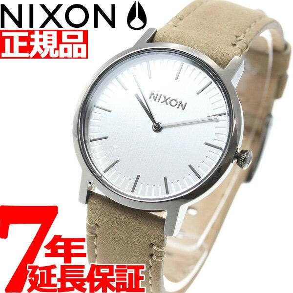 ニクソン NIXON ポーター 35 レザー PORTER 35 LEATHER 腕時計 メンズ/レディース ガンメタル/トープ NA11992799-00