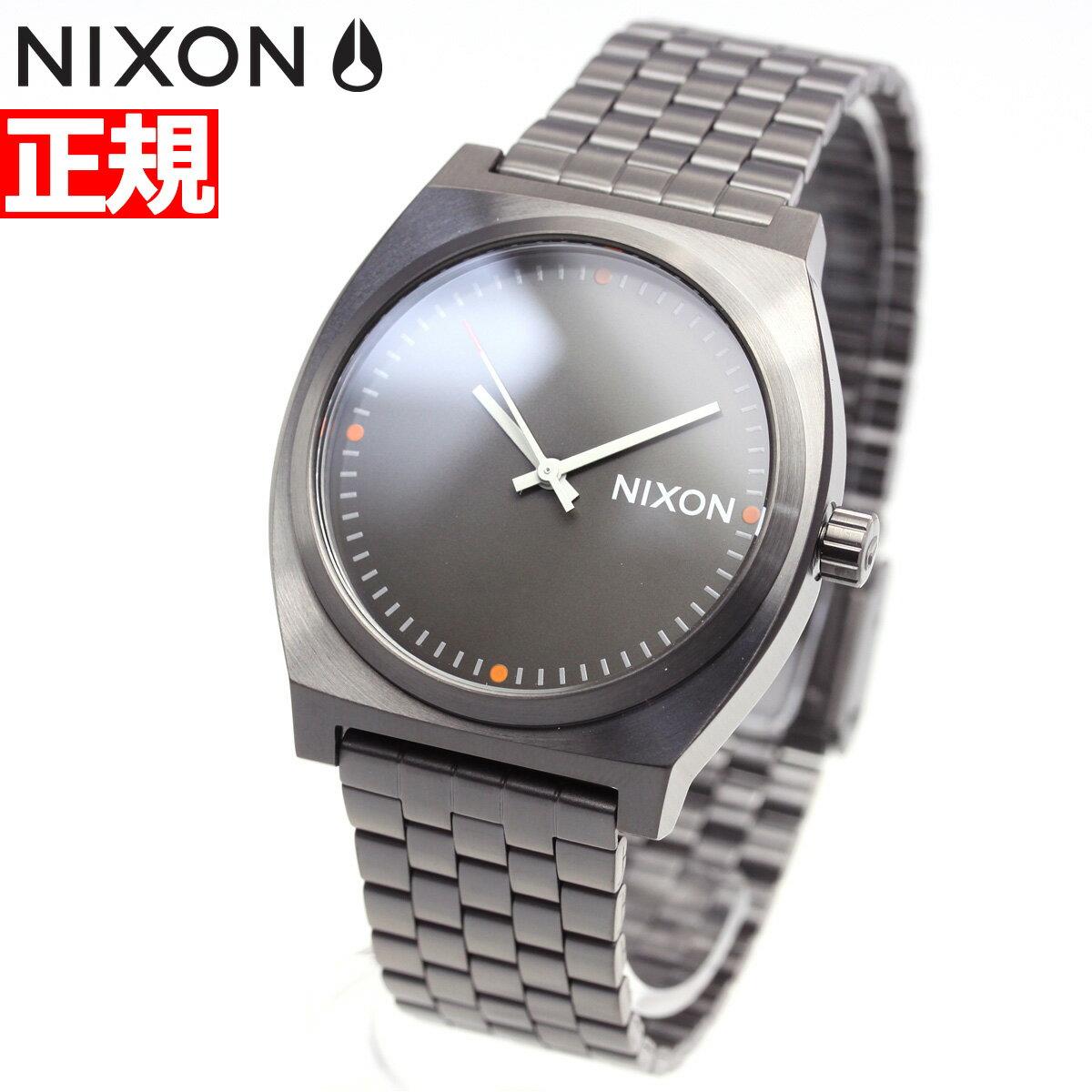 ニクソン NIXON タイムテラー TIME TELLER 腕時計 メンズ レディース オールガンメタル/スレート/オレンジ NA0452947-00【2018 新作】