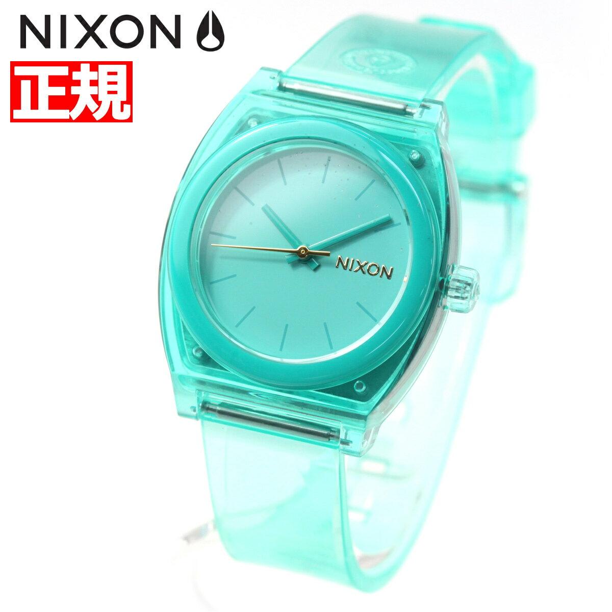 ニクソン NIXON ミディアム タイムテラーP MEDIUM TIME TELLER P 腕時計 レディース ターコイズ NA1215309-00【2018 新作】
