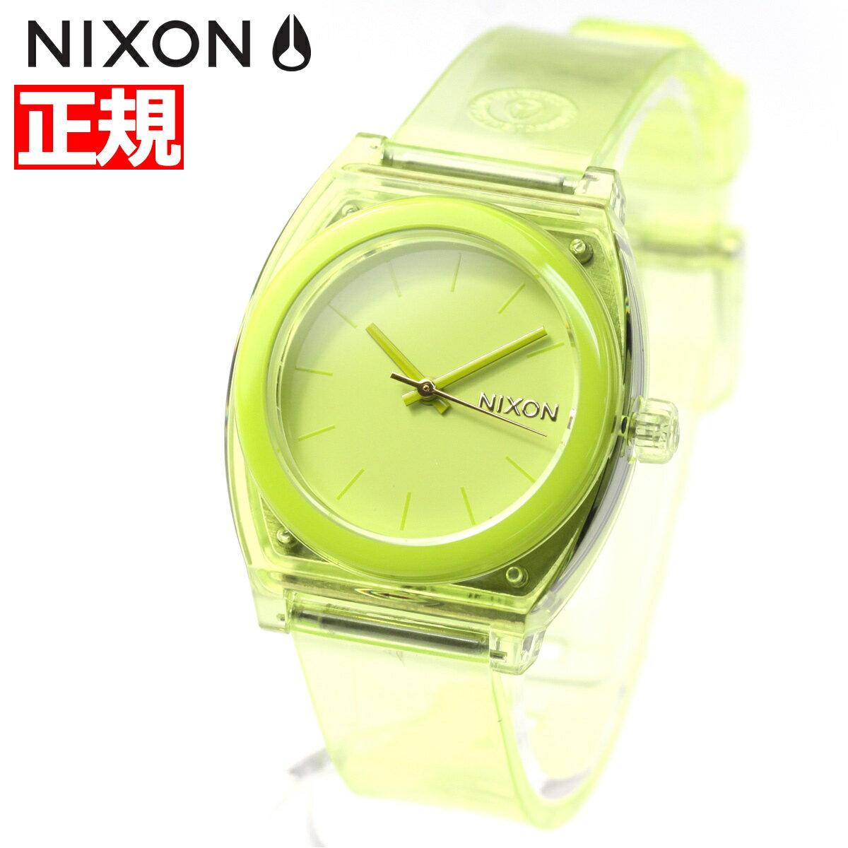 ニクソン NIXON ミディアム タイムテラーP MEDIUM TIME TELLER P 腕時計 レディース ライム NA1215536-00【2018 新作】