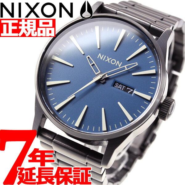 ニクソン NIXON セントリーSS SENTRY SS 腕時計 メンズ ネイビー/ガンメタル NA3562854-00【2018 新作】