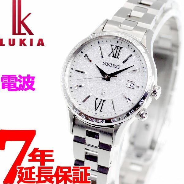 セイコー ルキア SEIKO LUKIA 電波 ソーラー 腕時計 ペアモデル レディース SSVV035【2018 新作】