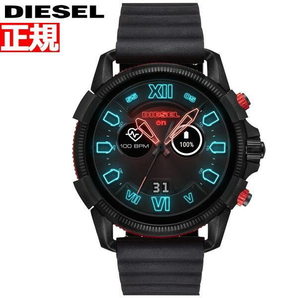 ディーゼル DIESEL ON スマートウォッチ ウェアラブル 腕時計 メンズ フルガード FULL GUARD 2.5 DZT2010【2018 新作】