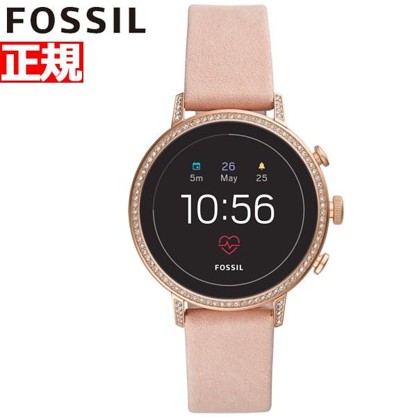 フォッシル FOSSIL Q スマートウォッチ ウェアラブル 腕時計 レディース ベンチャー Q VENTURE FTW6015【2018 新作】