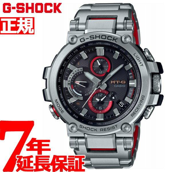 MT-G G-SHOCK 電波 ソーラー 電波時計 カシオ Gショック CASIO 腕時計 メンズ タフソーラー MTG-B1000D-1AJF【2018 新作】
