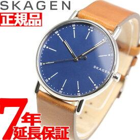 【1日0時〜♪最大3万円OFFクーポン&店内ポイント最大44倍!1日23時59分まで】スカーゲン SKAGEN 腕時計 メンズ シグネチャー SIGNATUR SKW6355