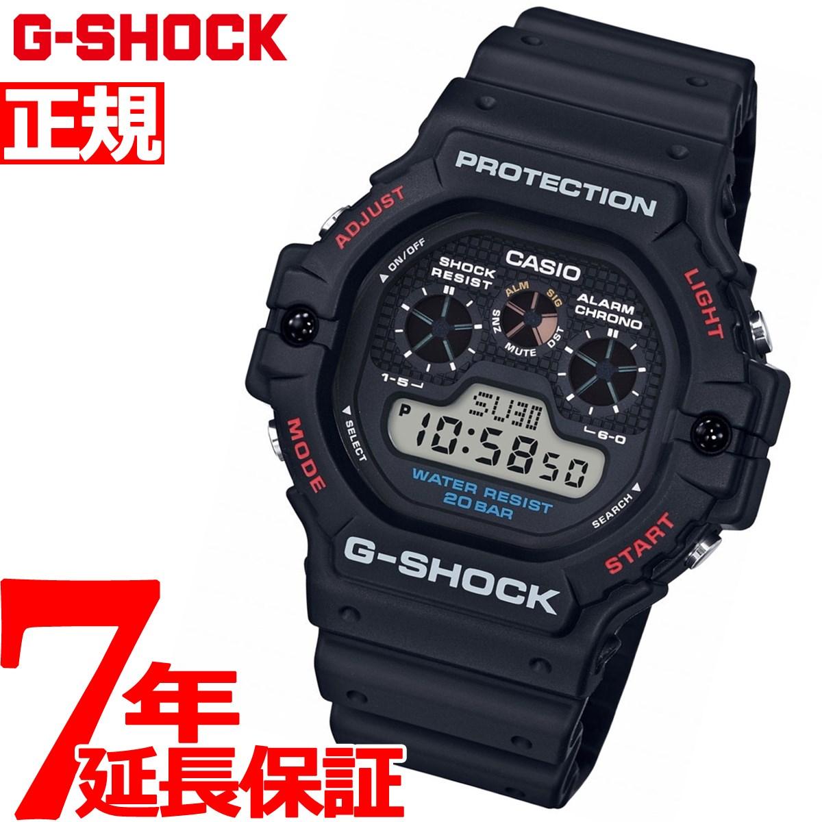 【21日20時〜お得!最大ポイント28倍!さらに最大1万円OFFクーポン配布!】G-SHOCK デジタル カシオ Gショック CASIO 腕時計 メンズ DW-5900-1JF【2018 新作】