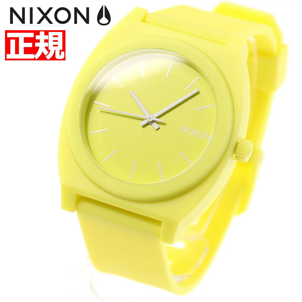 ニクソン NIXON タイムテラーP TIME TELLER P 腕時計 レディース メンズ マットシトロン NA1193014-00【2018 新作】