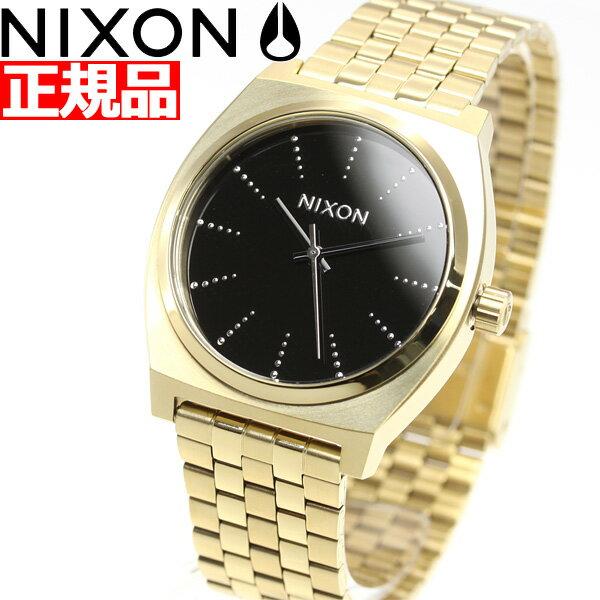 ニクソン NIXON タイムテラー TIME TELLER 腕時計 レディース GOLD / BLACK / SILVER NA0452879-00【2018 新作】