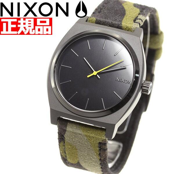 ニクソン NIXON タイムテラー TIME TELLER 腕時計 メンズ レディース BLACK / CAMO / VOLT NA0453054-00【2018 新作】