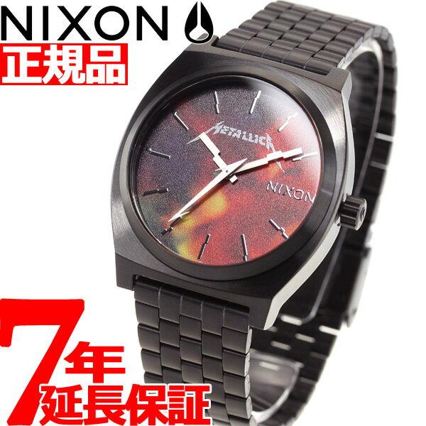 ニクソン NIXON タイムテラー TIME TELLER メタリカ コラボ 限定モデル 腕時計 メンズ BLACK / HARDWIRED METALLICA NA0453109-00【2018 新作】