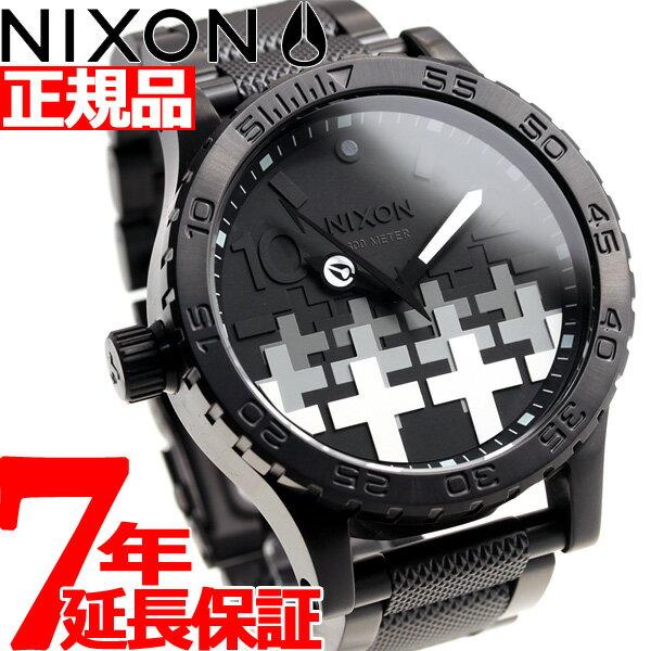 ニクソン NIXON 51-30 メタリカ コラボ 限定モデル 腕時計 メンズ MASTER OF PUPPETS METALLICA NA12463105-00【2018 新作】