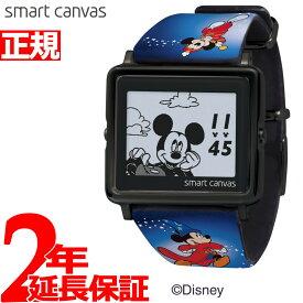 【SHOP OF THE YEAR 2018 受賞】エプソン スマートキャンバス EPSON smart canvas ディズニー ミッキー90周年デザイン MICKEY & Friends 限定モデル 腕時計 メンズ レディース W1-DY3047L【2019 新作】