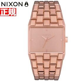 【最大1万円OFFクーポン!24日23時59分まで】ニクソン NIXON チケット2 TICKET II 腕時計 メンズ レディース オールローズゴールド NA1262897-00