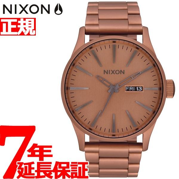 【SHOP OF THE YEAR 2018 受賞】ニクソン NIXON セントリーSS SENTRY SS 腕時計 メンズ マットコッパー/ガンメタル NA3563165-00【2019 新作】