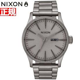 【25日0時〜♪店内ポイント最大51倍!25日23時59分まで】【最大1万円OFFクーポン!24日23時59分まで】ニクソン NIXON セントリーSS SENTRY SS 腕時計 メンズ ダークスティール NA3563166-00
