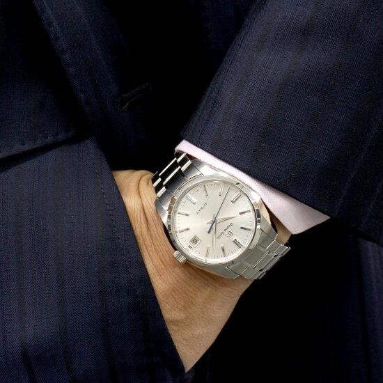 本日限定!最大3万円OFFクーポン付!&ポイント最大18倍!1日23時59分まで♪グランドセイコーGRANDSEIKOメカニカル自動巻き腕時計メンズSBGR315【2019新作】